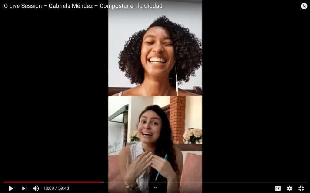 IG Live Session – Gabriela Méndez – Compostar en la Ciudad